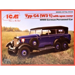 ICM 35532 1/35 Typ G4 (W31) With Open Cover WWII German Passenger Car