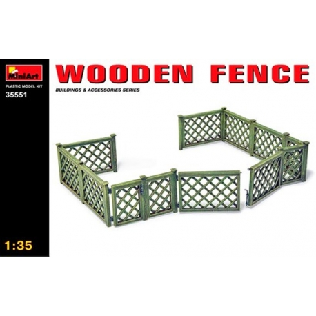 MINIART 35551 1/35 Wooden Fence
