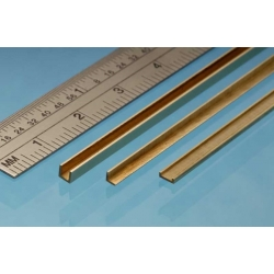 ALBION ALLOYS ABA3 Laiton - Brass Angle 3 x 3 mm (1p.)