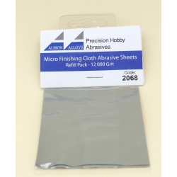 ALBION ALLOYS FF2068 Micro Finish Cloth Abr.Sheet 12000