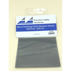 ALBION ALLOYS FF2065 Micro Finish Cloth Abr.Sheet 4000