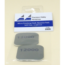 ALBION ALLOYS FF2006 Micro Finish Cloth Abras.Pads 12000