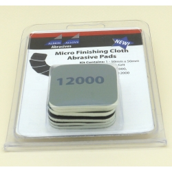 ALBION ALLOYS FF2000 Micro Finish Cloth Abras.Pads Kit