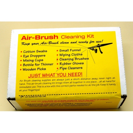 FLEX-I-FILE FF7011 Airbrush Cleaning Kit