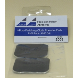 ALBION ALLOYS FF2003 Micro Finish Cloth Abras.Pads 4000