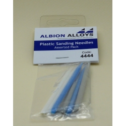 ALBION ALLOYS FF4444 Plastic Sanding Needle – Pack