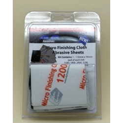ALBION ALLOYS FF2050A Micro Finishing Cloth Abrasive Ass