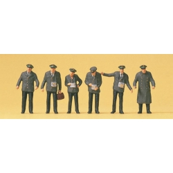 Preiser 10490 Figurines HO 1/87 Personnel de Tramway - Tram Staff