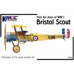MAC 72120 1/72 Bristol Scout First Aces of WW I