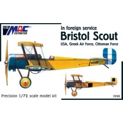 MAC 72122 1/72 Bristol Scout In foreign service – USA Greek Air Force, Ottoman Force