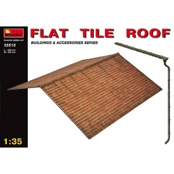 MINIART 35518 1/35 Flat Tile Roof*