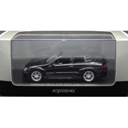 KYOSHO 03219BK 1/43 Mercedes-Benz CLK DTM AMG Coupe Street version Noir – Black