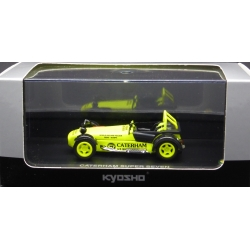KYOSHO 03156Y 1/43 Caterham Super Seven JPE Jaune – Yellow