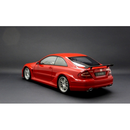 KYOSHO 08461R Mercedes Benz CLK DTM AMG Coupe Rouge - Red Die-Cast