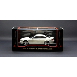 KYOSHO 03511W 1/43 Museum Collection BMW 645Ci E63 Coupe Blanc - White