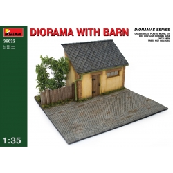 Miniart 36032 1/35 Diorama With Barn