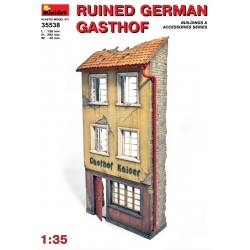 Miniart 35538 1/35 German Gasthof Ruined