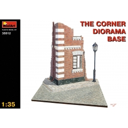 Miniart 35512 1/35 Corner Diorama Base
