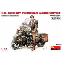 MiniArt 35168 1/35 US Military Police With Motor