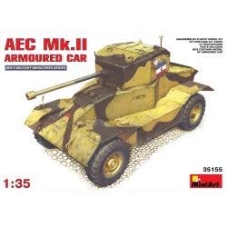 MiniArt 35155 1/35 AEC MK2 Armoured Car