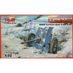 ICM 72251 1/72 3,7 cm Pak 36 WWII German Anti-Tank Gun