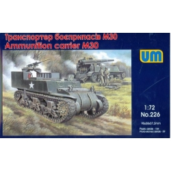 UNIMODELS 226 1/72Ammunition Carrier M30