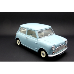 KYOSHO 08105BL 1/18 Morris Mini Minors Bleu – Blue 50th Die Cast