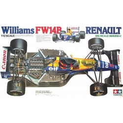 TAMIYA 12029 1/12 Racing Car Series Williams FW14B Renault