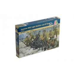 ITALERI 6164 1/72 Japenese M92 Light Howitzer and AT Team