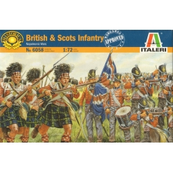 ITALERI 6058 1/72 Napoleonic Infanterie Écossaise et Anglaise - British and Scots Inf