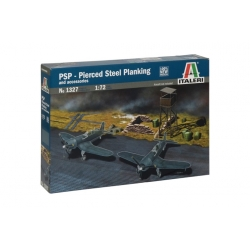 ITALERI 1327 1/72 Accessoires Diorama - Pierced Steel Planking and accessories