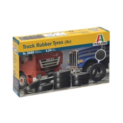 ITALERI 3889 1/24 8 Pneus – 8 Truck Rubber Tyres