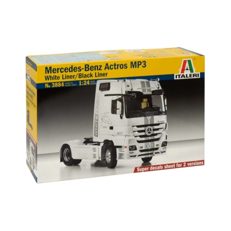 ITALERI 3884 1/24 Mercedes-Benz Actros MP3