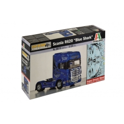 "ITALERI 3873 1/24 Scania R620 ""Blue Shark"""