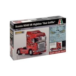 ITALERI 3882 1/24 Scania R560 V8 Highline ''Red Griffin''