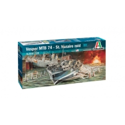 "ITALERI 5619 1/35 Vosper MTB 74 ""St. Nazaire Raid"""