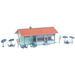 ITALERI 50821 Fine serrated Locking tweezers (160mm) - Pinces de blocage 160mm