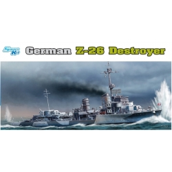 DRAGON 1064 1/350 German Z-26 Destroyer
