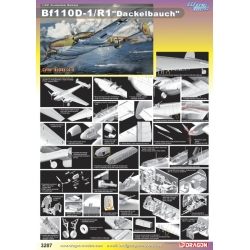 "DRAGON 3207 1/32 Warbirds Series Bf110D-1/R1""Dackelbauch"""