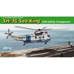 DRAGON 5113 1/72 SH-3G Sea King USN Utility Transporter