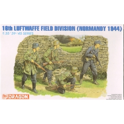 DRAGON 6084 1/35 16th Luftwaffe Field Division (Normandy 1944)