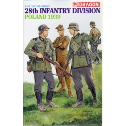 DRAGON 6344 1/35 28th Infantry Division Poland 1939