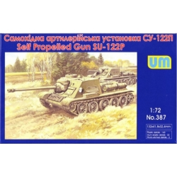 UNIMODELS 387 1/72 SU-122 P Soviet self-propelled art. Gun