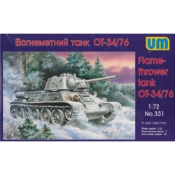 UNIMODELS 331 1/72 Flame-thrower tank OT-34/76