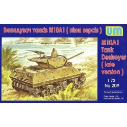 UNIMODELS 209 1/72 M10A1 Tank Destroyer (late version)