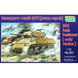 UNIMODELS 201 1/72 M10 Tank Destroyer (early version)