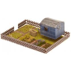 RODEN 723 1/72 Opel 3.6-47 Blitz Omnibus Stabswagen