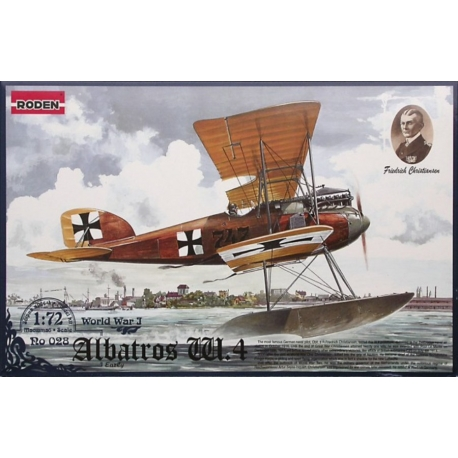 RODEN 028 1/72 Albatros W.4 (early)