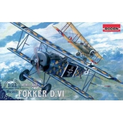 RODEN 007 1/72 Fokker D.VI World War I