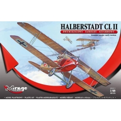 MIRAGE HOBBY 481306 1/48 Halberstadt Cl.II early version